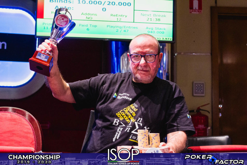 ISOP Championship | Dario De Toffoli vince il secondo evento Omaha Player of The Year | Poker Room del Perla Resort Entertainment | ©pokerfactor