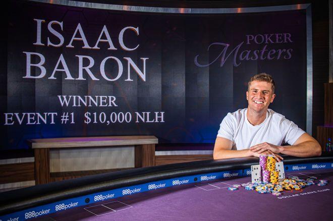 isaac baron poker live