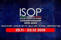 isop championship novembre 2019