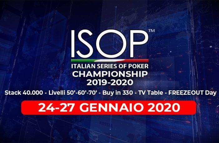 isop championship gennaio 2020