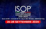 ISOP Championship 25 28 settembre 2020