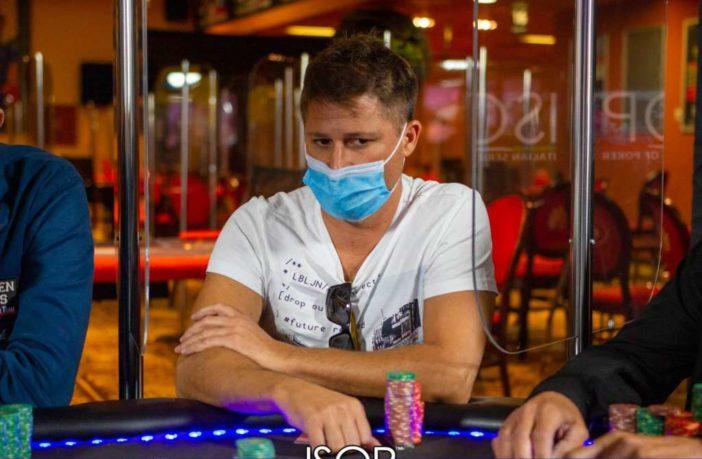 Carmelo Battaglia ISOP Final Table settembre