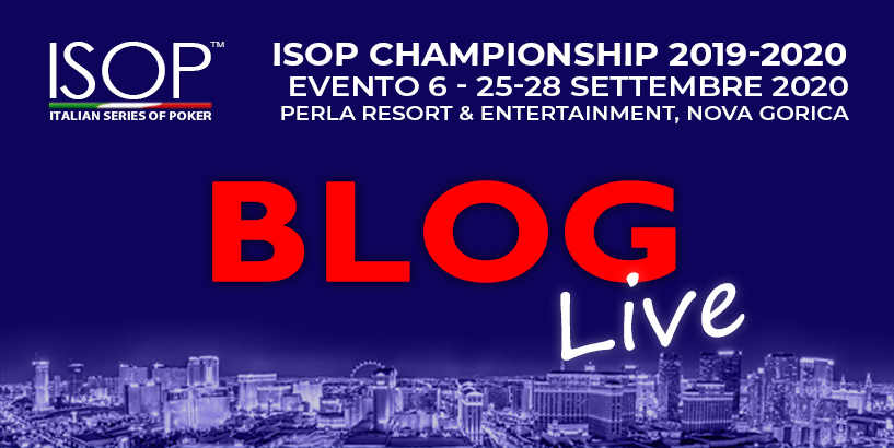 isop settembre 2020 blog live