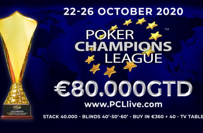 PCL Poker Champions League 80000gtd