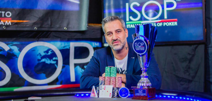 Benedetto Scampone vince ISOP Championship