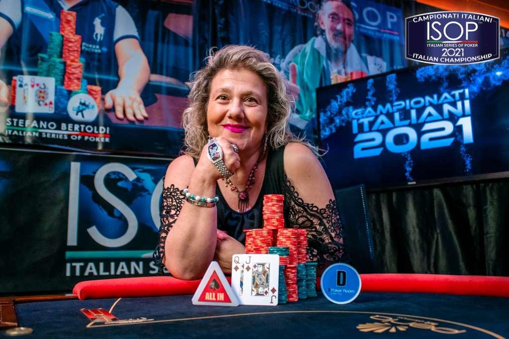 Maria Lucia Cerato Campionati Italiani Poker